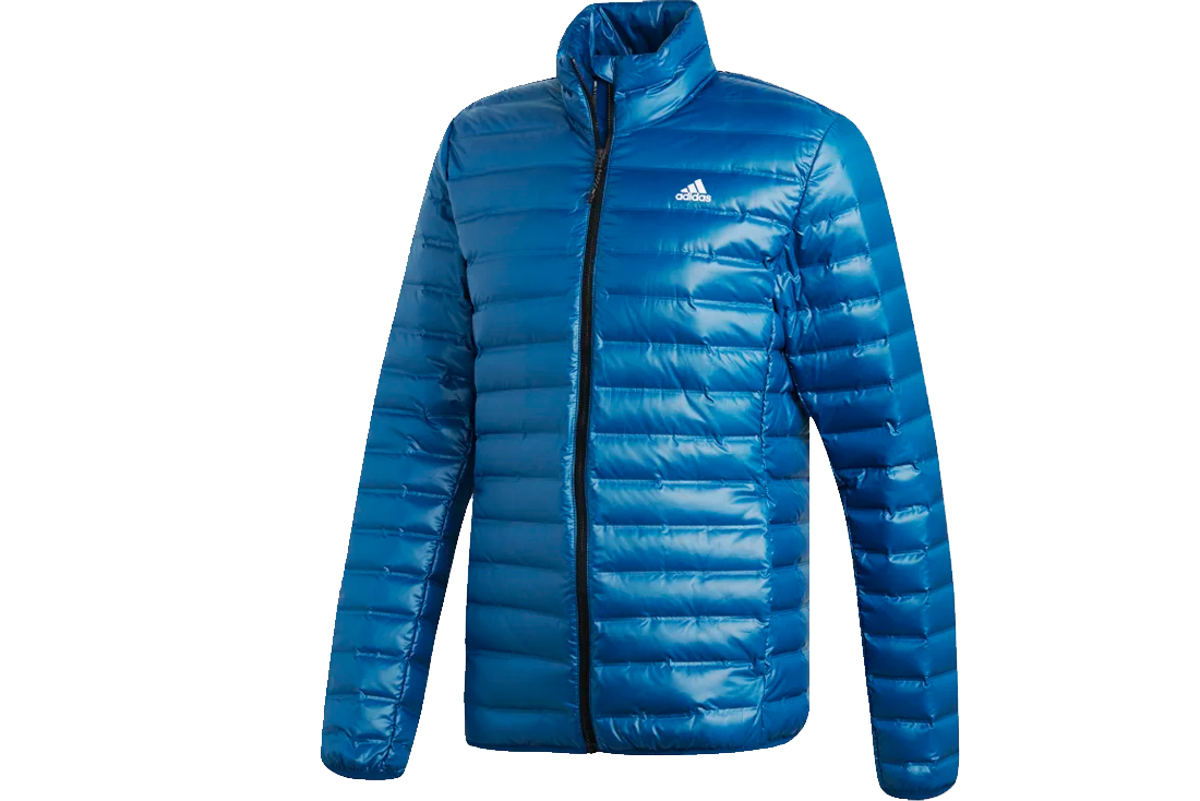 grossiste ec83b 8a94e Adidas Varilite Down Jacket DX0783 Homme veste Bleu