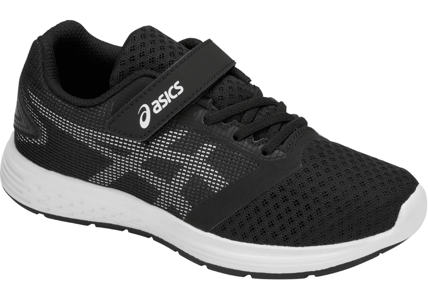 e9d2d5e218c278 Asics Patriot 10 PS 1014A026-004 Garçon chaussures de running Noir ...