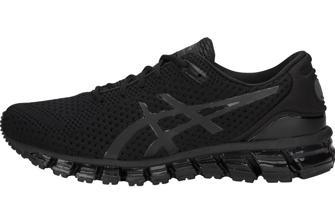 d0282d2868c Asics Gel-Quantum 360 Knit 2 T840N-001 Homme chaussures de running Noir