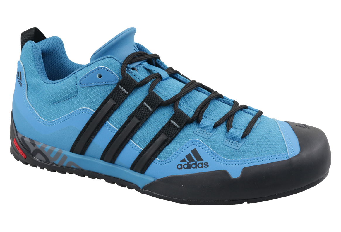 100% genuine fashion styles top fashion Adidas Terrex Swift Solo D67033 Homme chaussures de sport Bleu