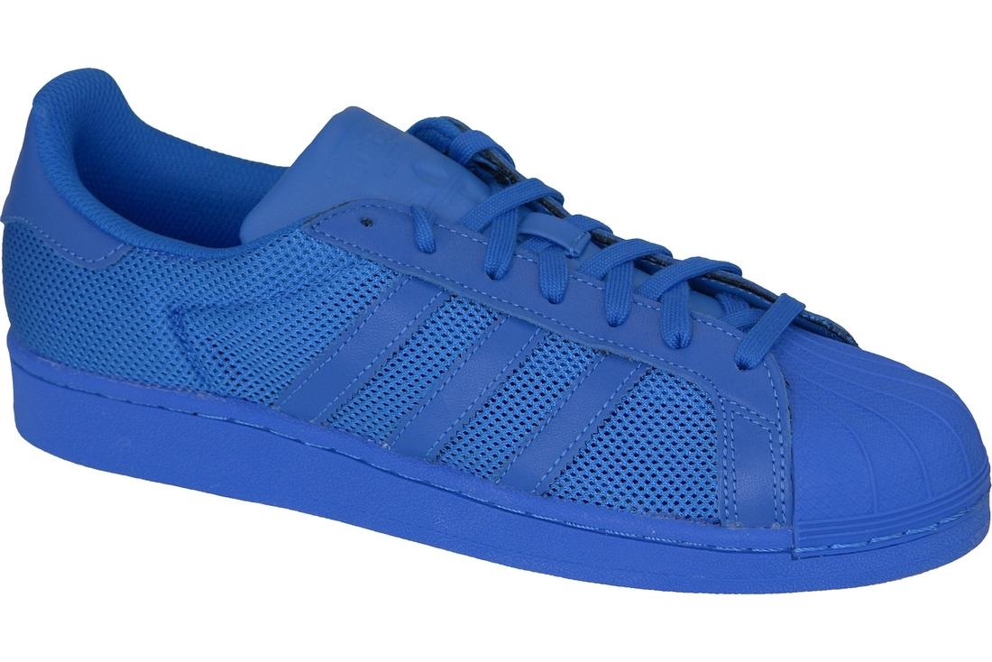 c3acff2c4 Adidas Superstar Blue B42619 Homme sneakers Bleu