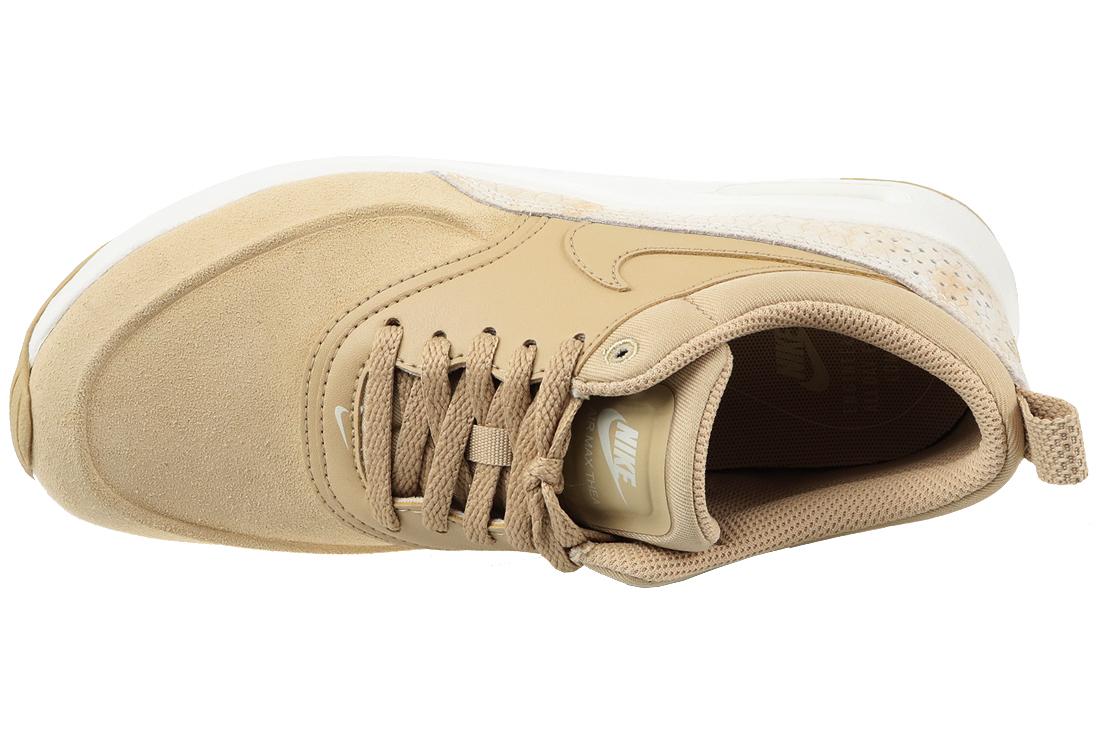 Royaume-Uni disponibilité be015 2e73c Nike Air Max Thea Premium Wmns 616723-203 Femme sneakers Beige