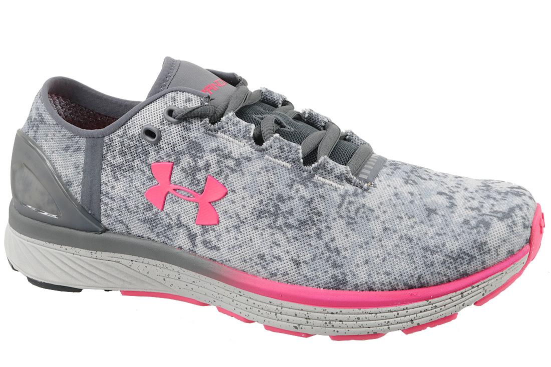 promo code 3e323 783a6 UA W Charged Bandit 3 Digi 1303116-941 Femme chaussures de running Gris