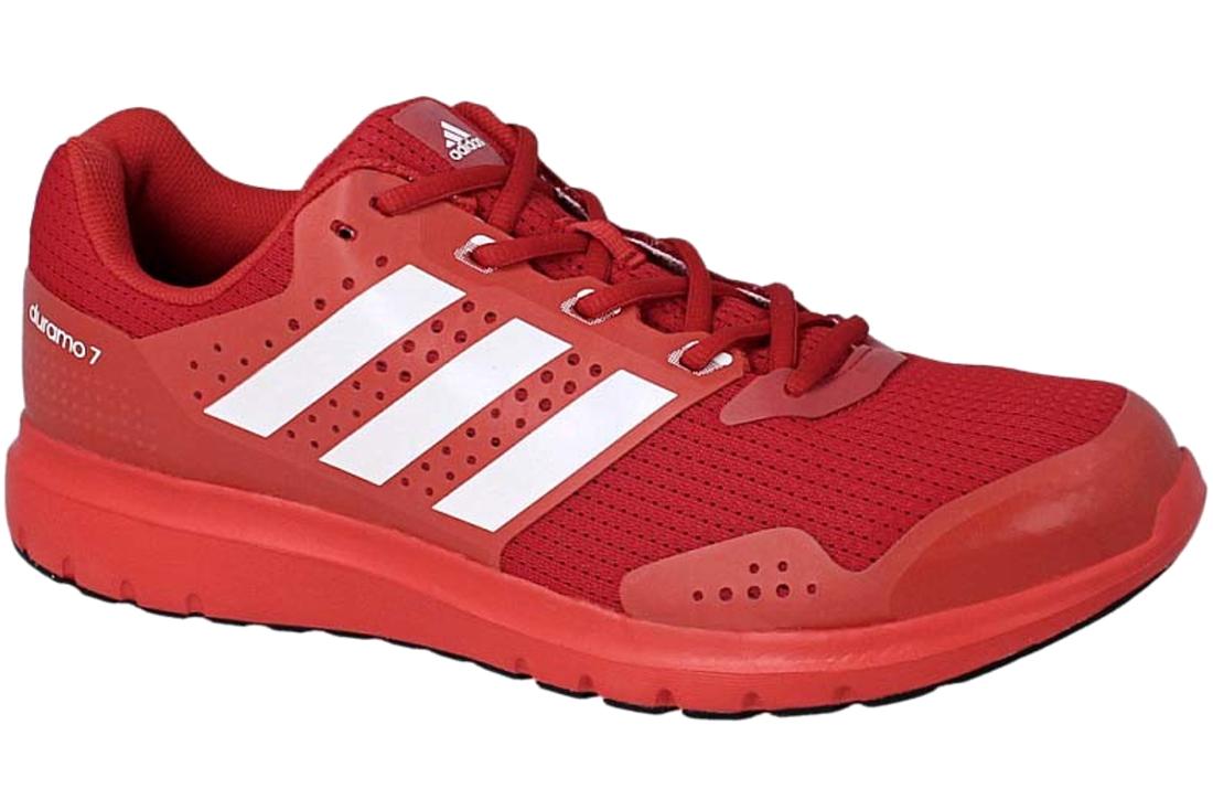 M Af6667 Chaussures 7 Duramo Rouge De Adidas Running Homme tsQdChr