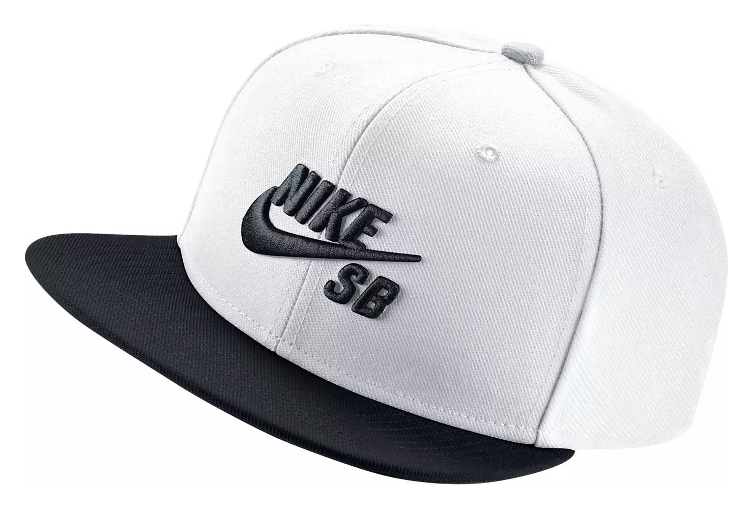 topowe marki wielka wyprzedaż uk połowa ceny Nike SB Icon Cap White Black