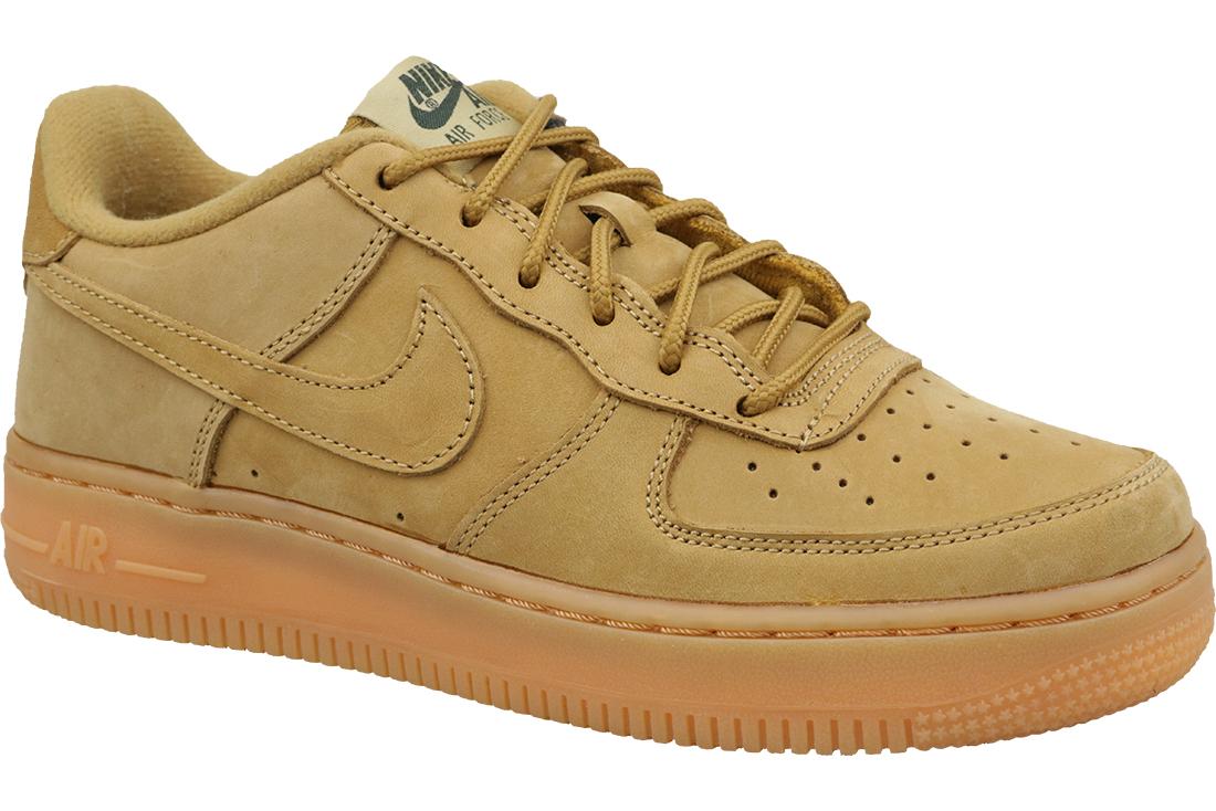 chaussures de séparation ad651 29a53 Nike Air Force 1 Winter Premium Gs 943312-200 Garçon sneakers Jaune
