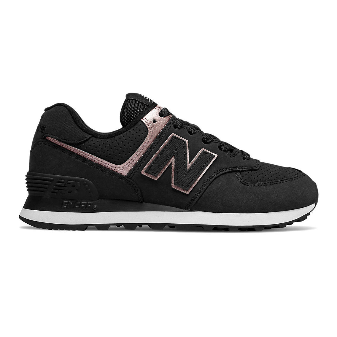 hot sale online c8207 9b63d Chaussures femme New Balance 574 Nubuck