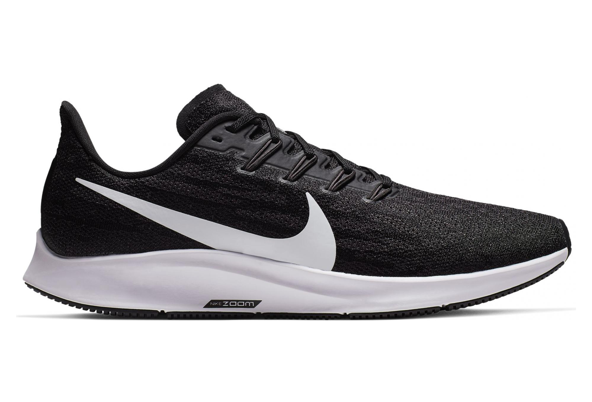 super popular 969c4 22ccc Nike Air Zoom Pegasus 36 Black White Men