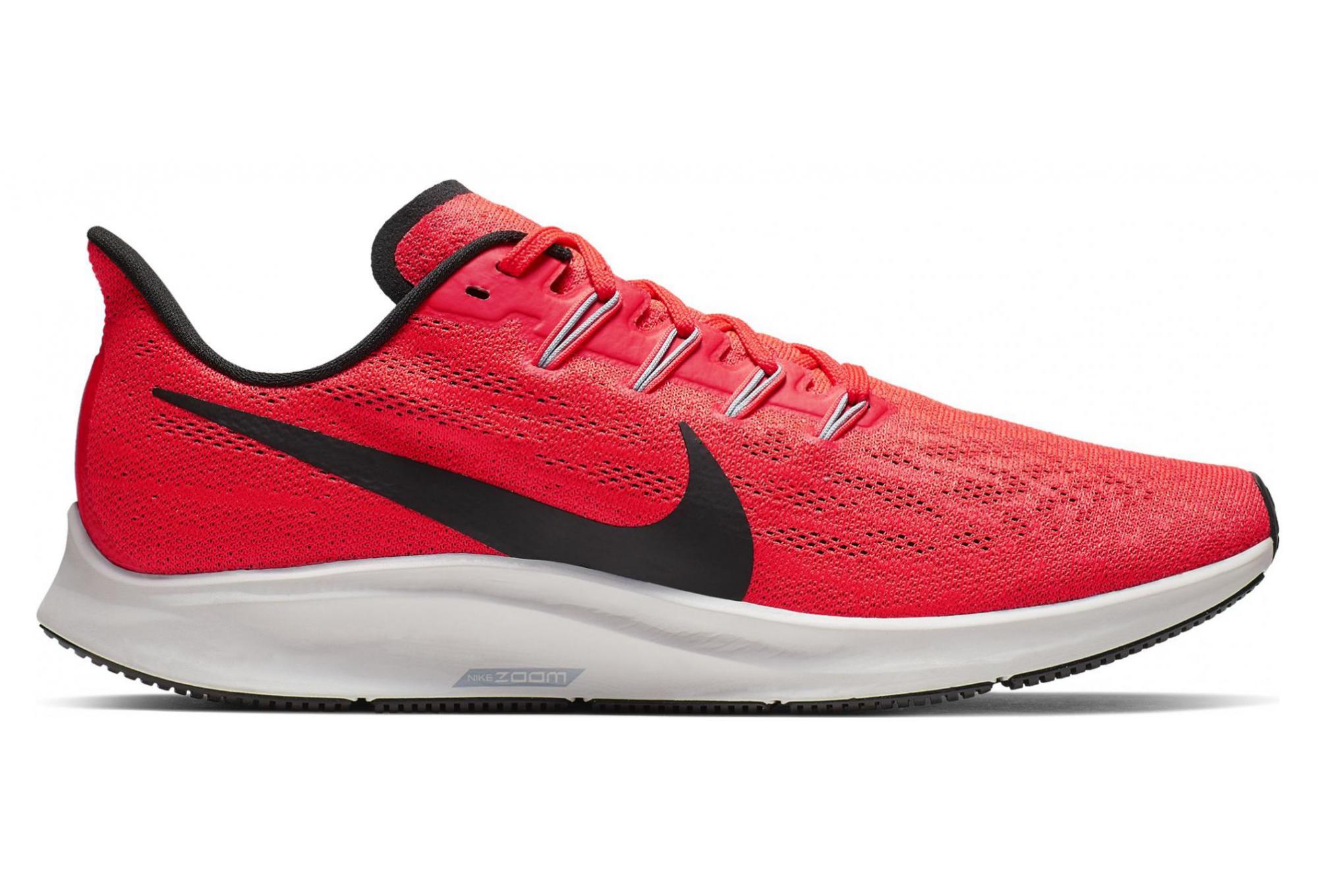chaussures running nike noir et rouge