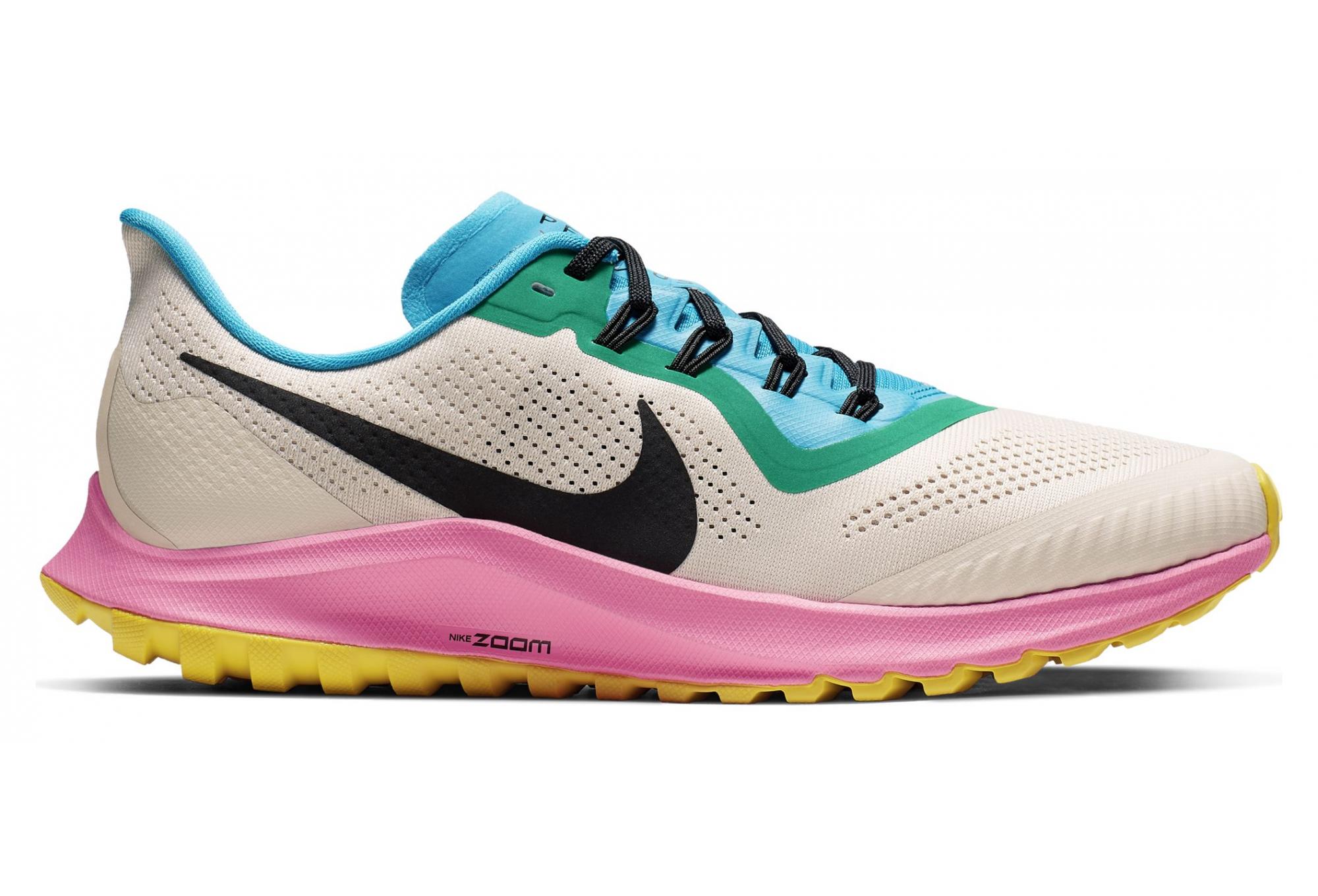 świetna jakość najlepsza wyprzedaż ogromna zniżka Nike Air Zoom Pegasus 36 Trail White Blue Pink Men