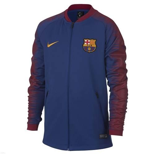 vente en magasin Beau design style distinctif Vestes Nike FC Barcelona Anthem Junior