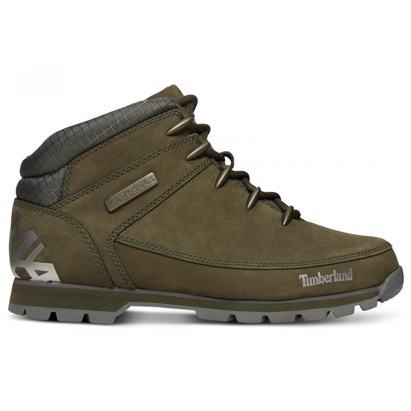 Hiker Euro Chaussures Sprint Timberland Dark Green mn08Nw