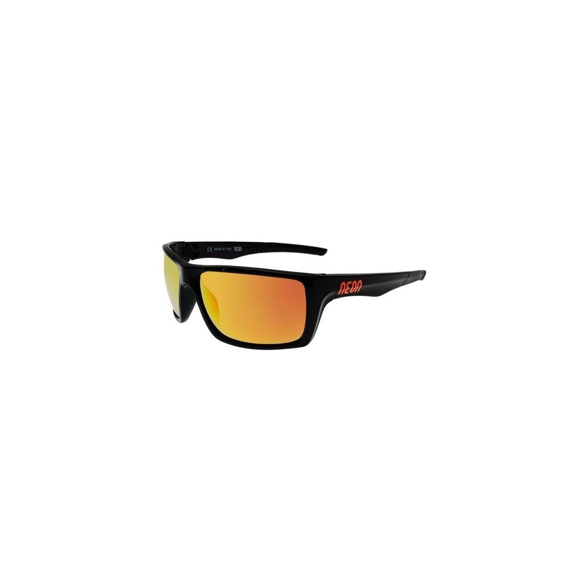 choisir officiel sélectionner pour dernier dans quelques jours Lunettes De Soleil Neon Jet Black Orange Fluo Mirror Red