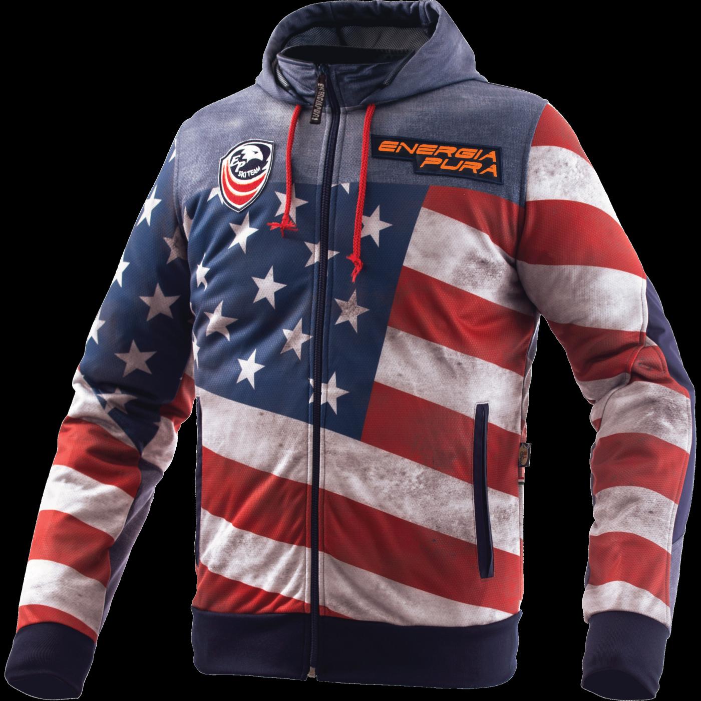 Junior America Energiapura Veste Flag Light Jacket oCEQxWerdB