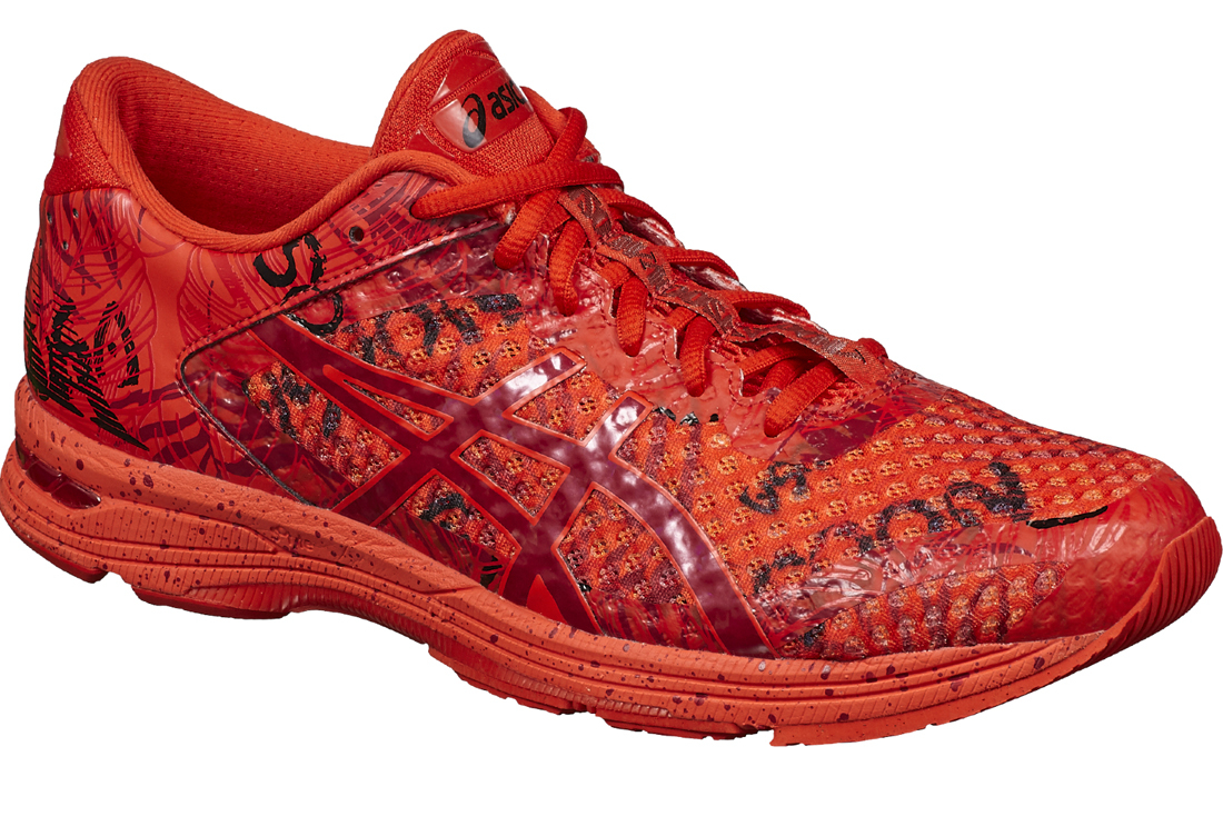 new style 540c8 e5c36 Asics Gel-Noosa Tri 11 1011A631-600 Homme chaussures de running Rouge