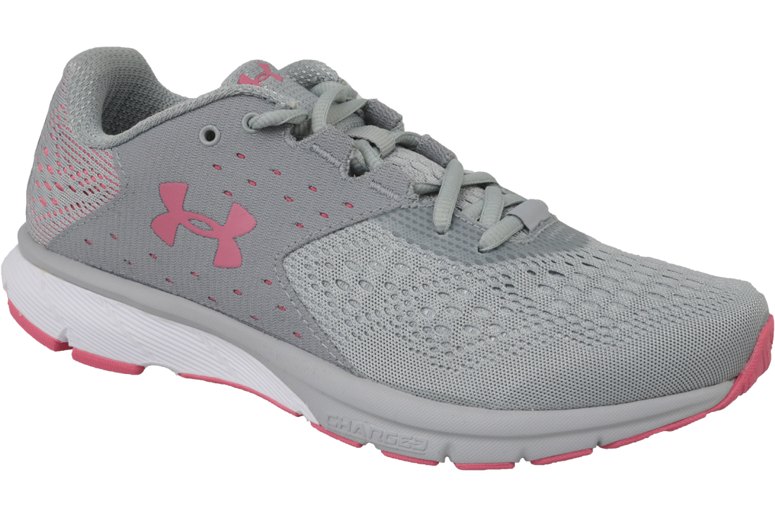 brand new 205b2 0f65f UA W Charged Rebel 1298670-102 Femme chaussures de running Gris