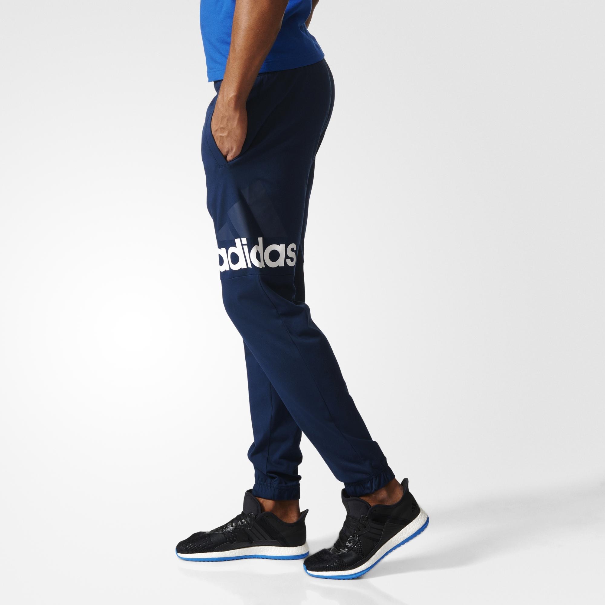 Adidas Performance Logo Pantalon Essentials Pantalon LSpGUqVjMz