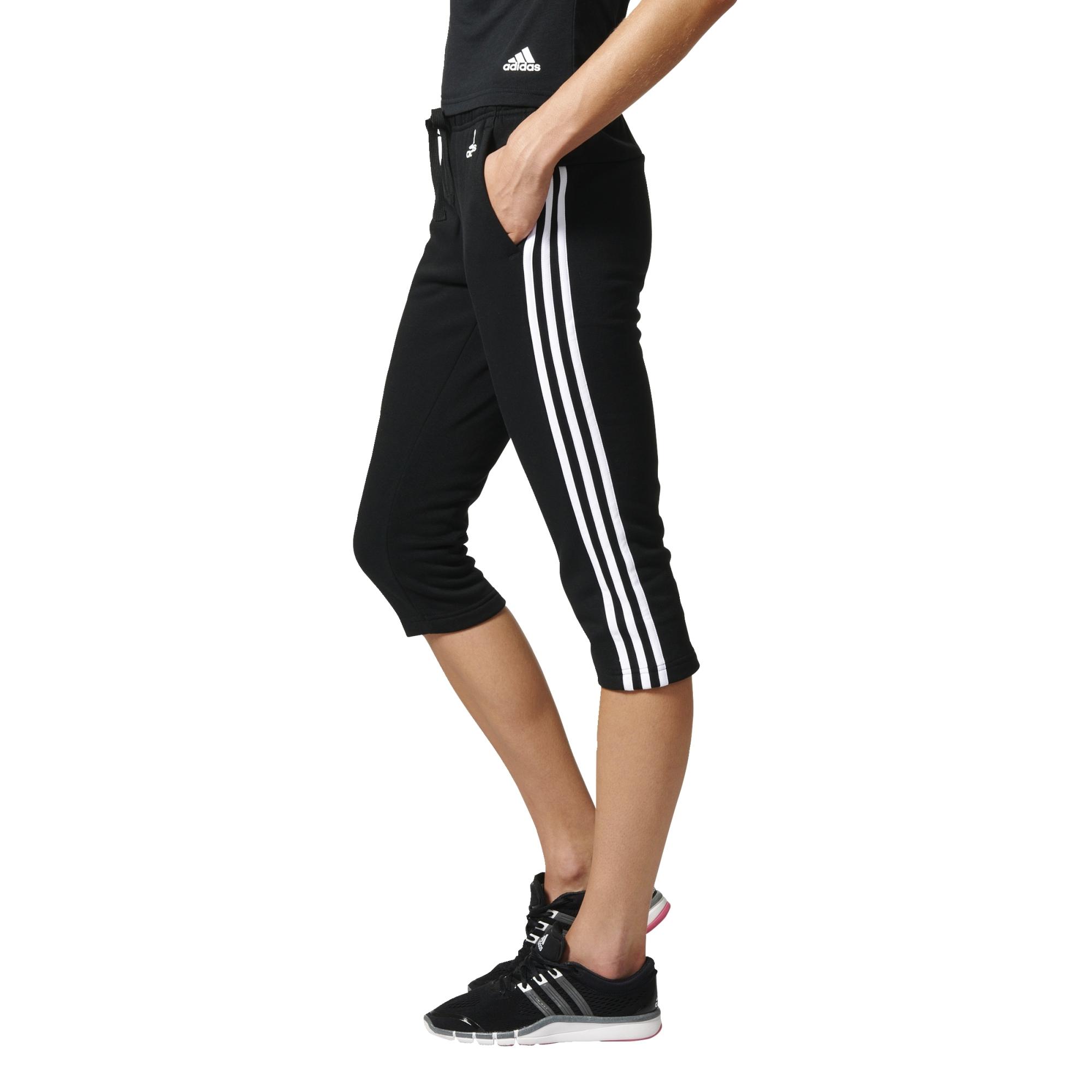 Adidas Pantalon Femme 3 34 Essentials Stripes Yf6b7gyv