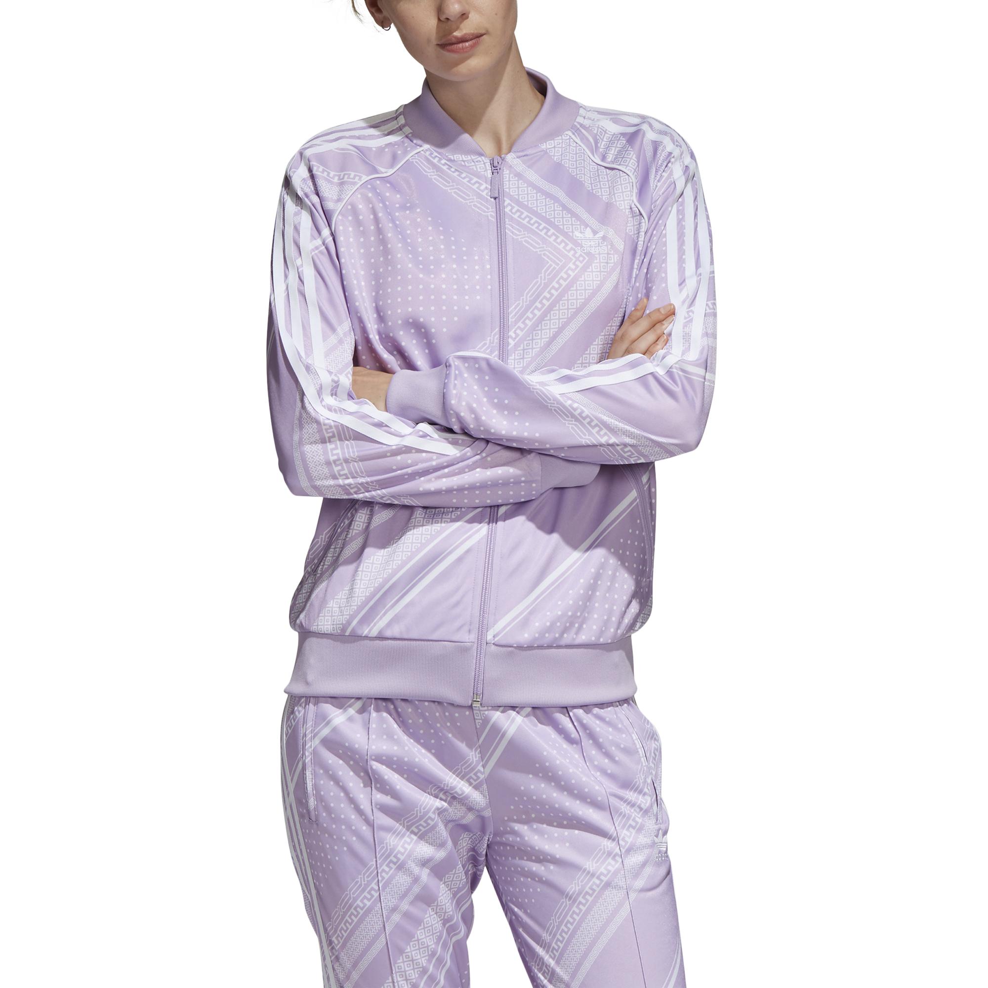 d3f38e7188d Veste de survêtement femme adidas SST Graphic