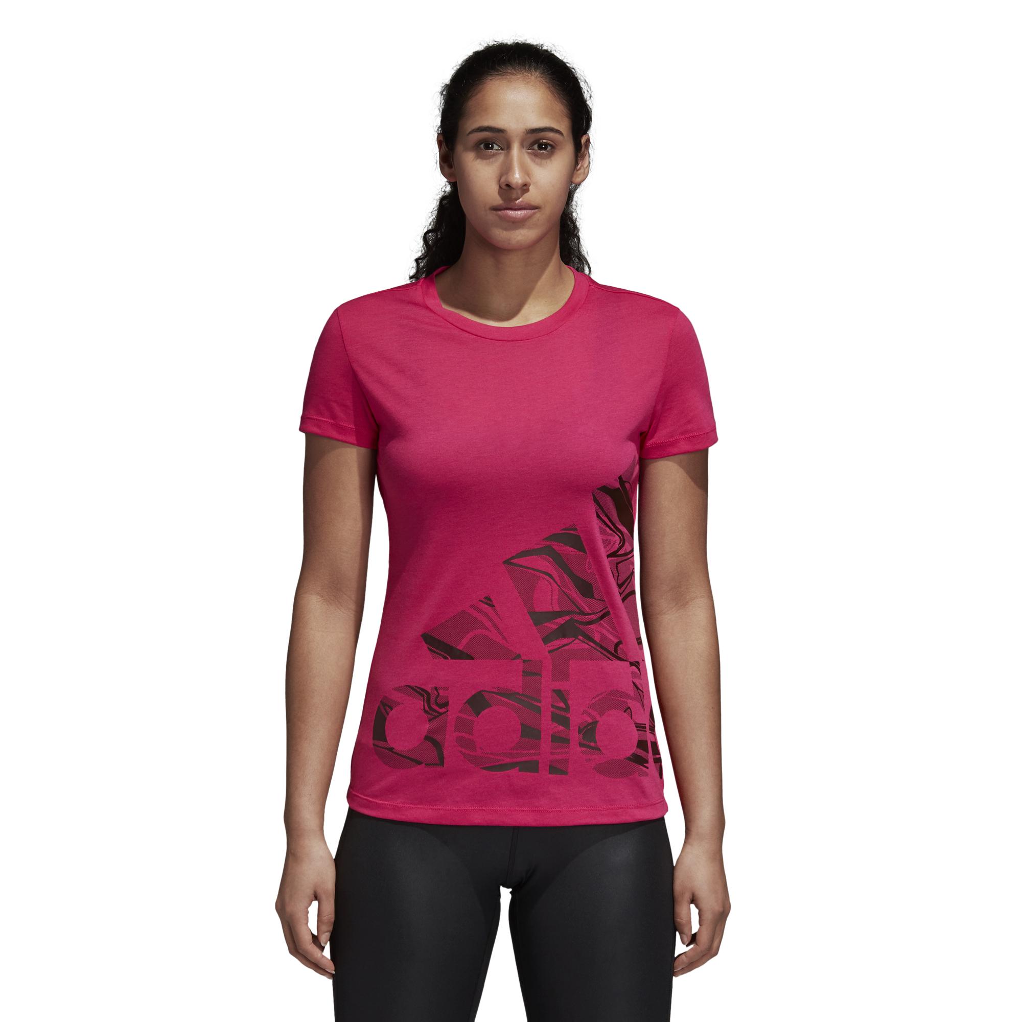 Conception innovante 2a794 5e248 T-shirt femme adidas Logo