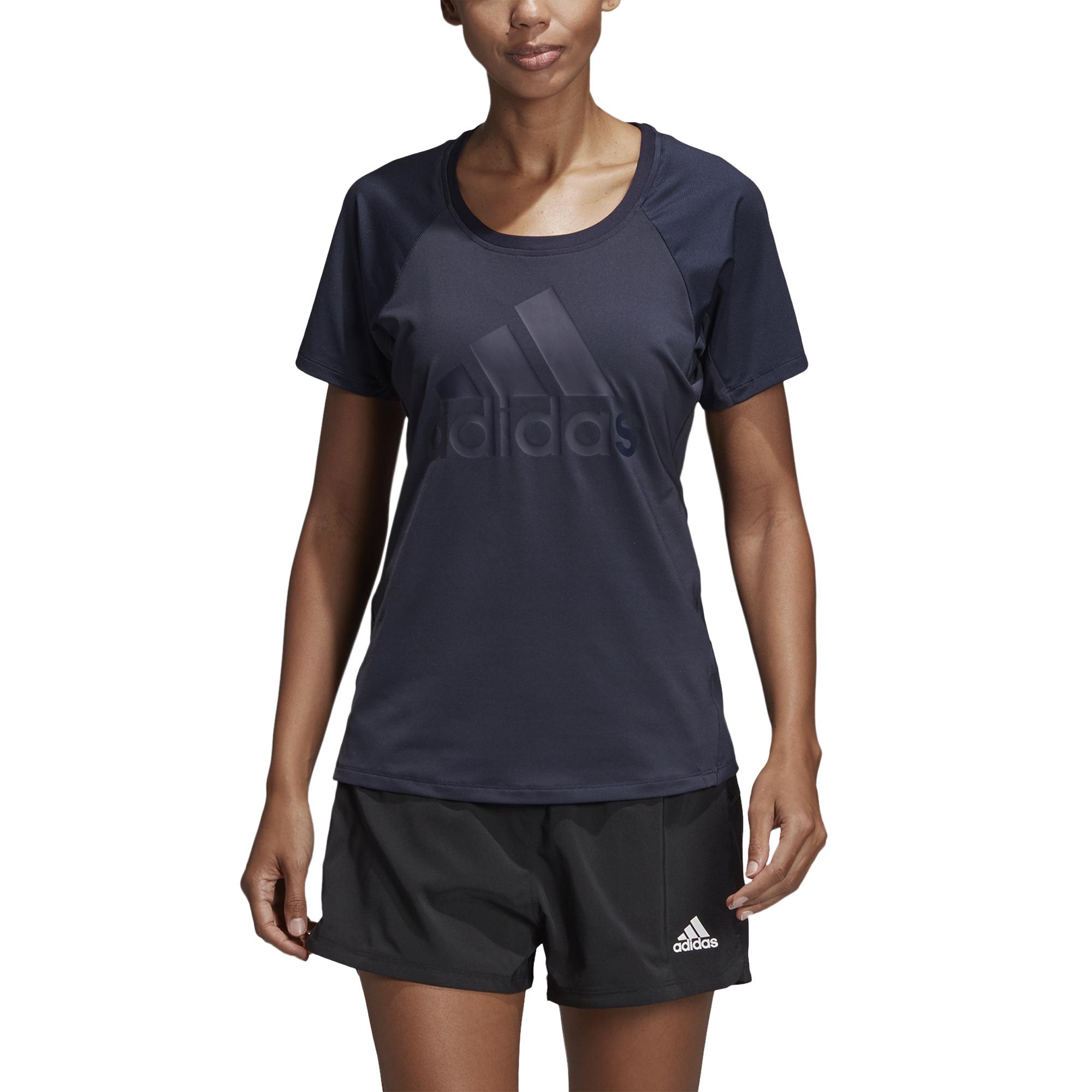 plus récent e05a7 bb598 T-shirt femme adidas