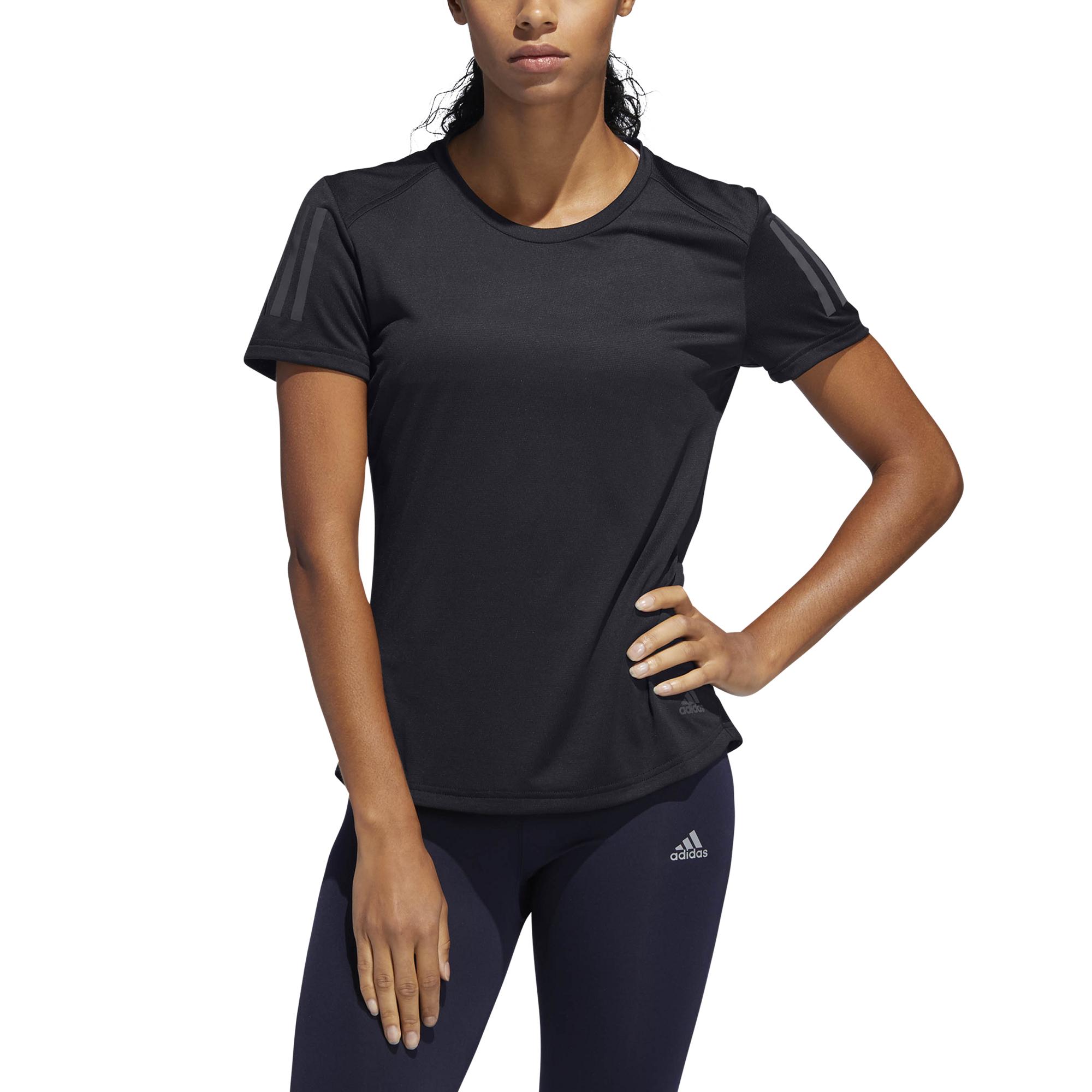 pas mal 8be8b 49cda T-shirt femme adidas Own the Run