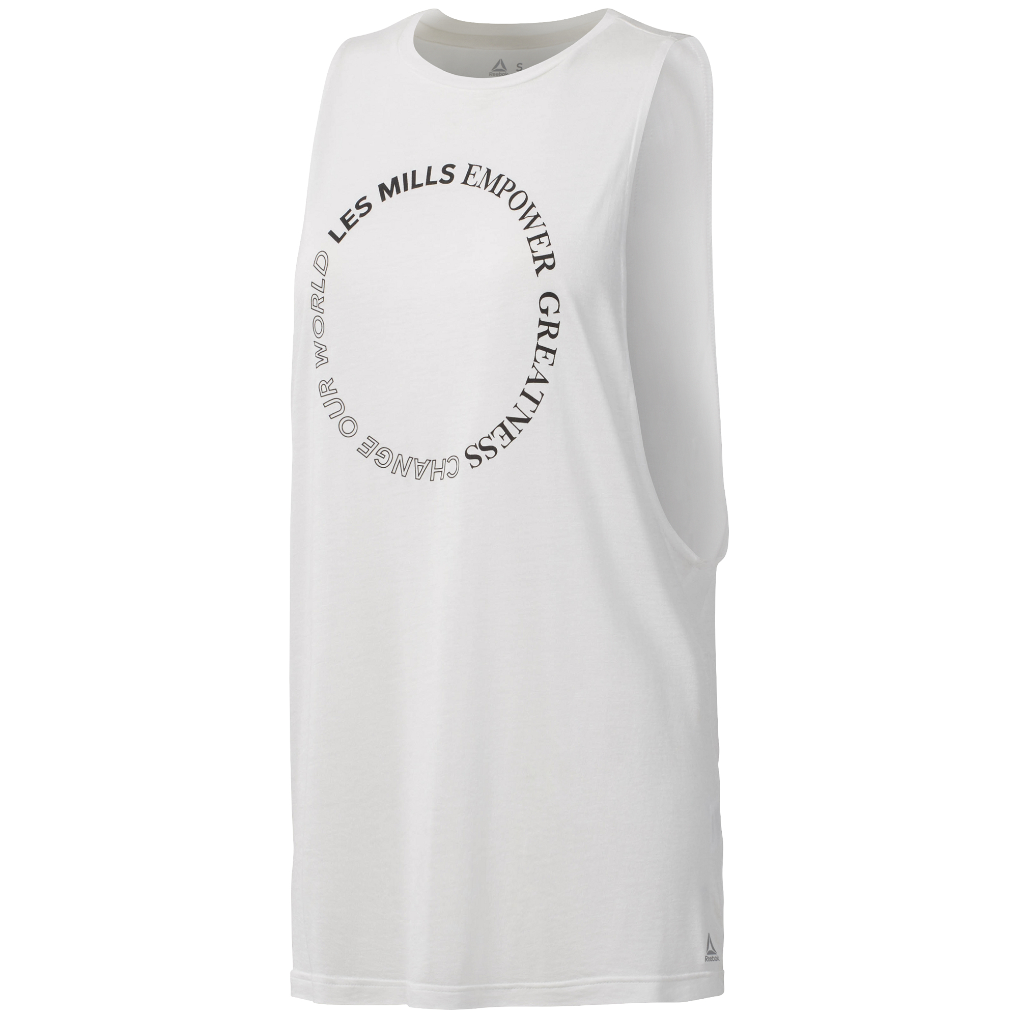 mujer para Camiseta Reebok tirantes mangas sin de cqLj3R54A