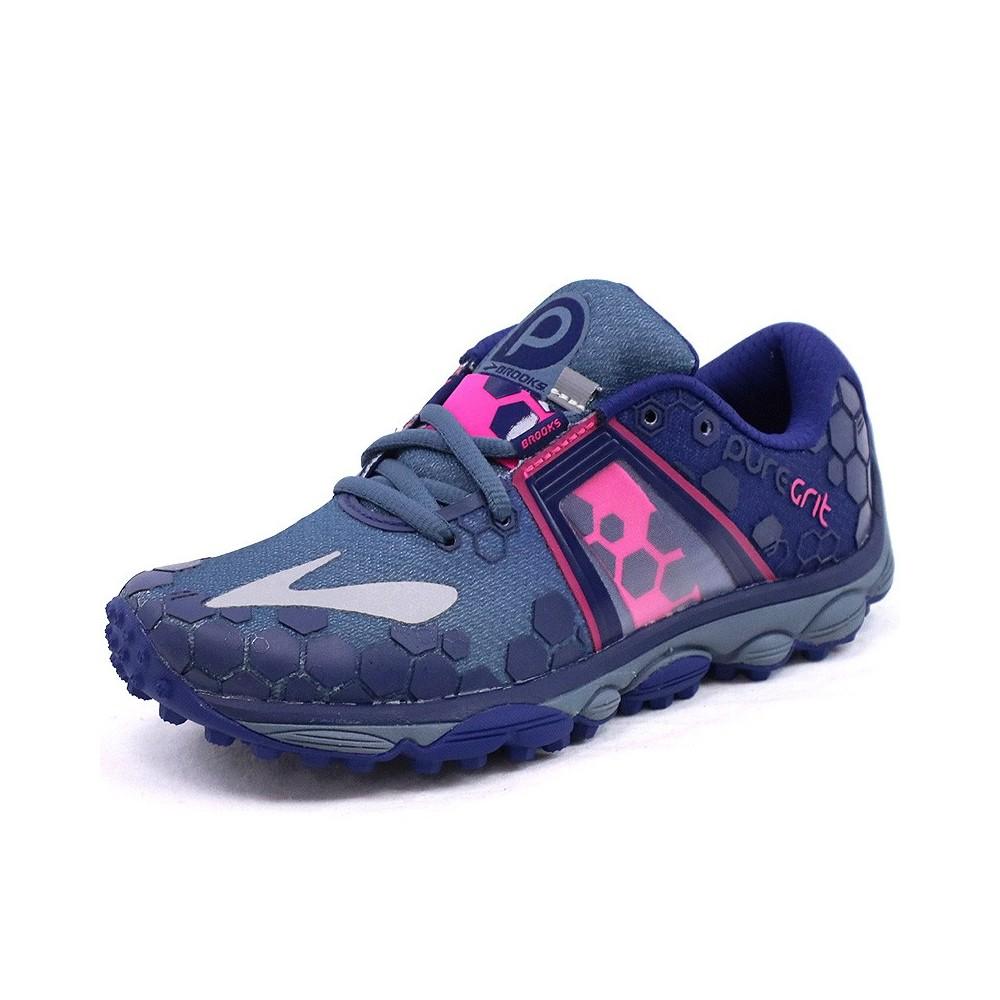 Chaussures Puregrit 4 Bleu Running