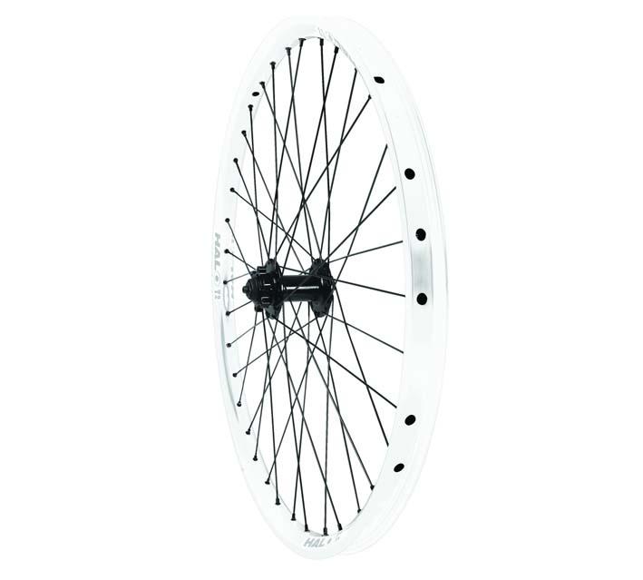 halo t2 racing rear wheel drive 6tr white 26 u0026 39  u0026 39  9mm 32 spokes