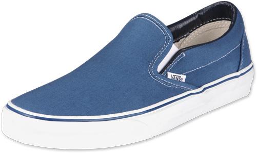 41 On Chaussures 5 Us Vans 8 Slip Navy Taille Classic W44qt5 1lF3TKcu5J