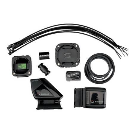 Sigma Kit complet V/élo 2 avec /émetteurs de vitesse et de cadence pour compteurs cycles Rox 8.0 et Rox 9.0