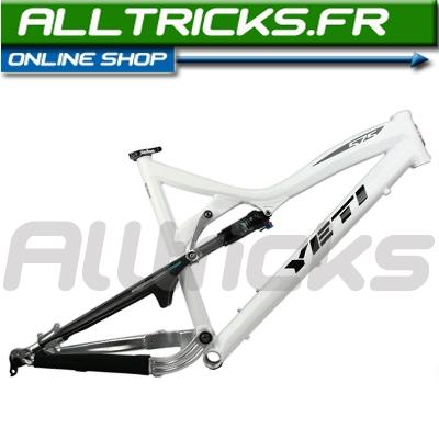 Yeti 575 2010 aluminum frame White + RP 23   Alltricks.com
