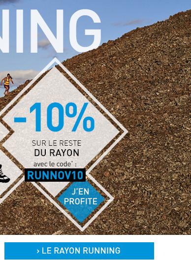 Rayon running à -10%