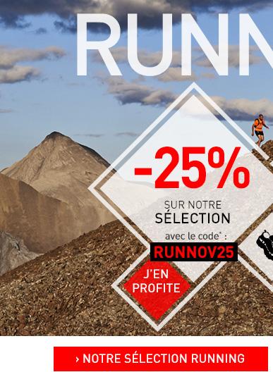Sélection running à -25%
