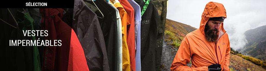 selection vestes imperméables