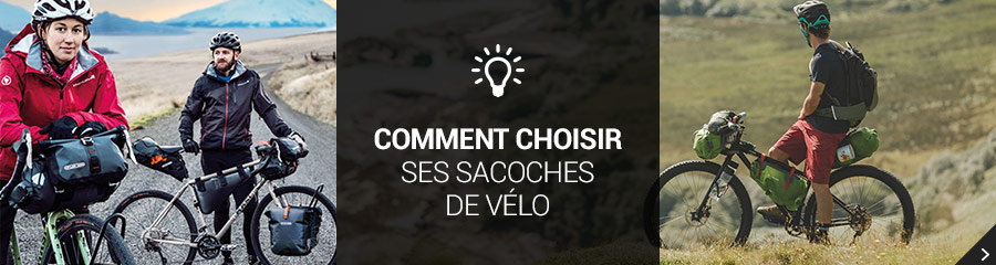 Comment choisir sacoches velo