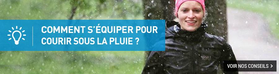 Comment courir sous la pluie