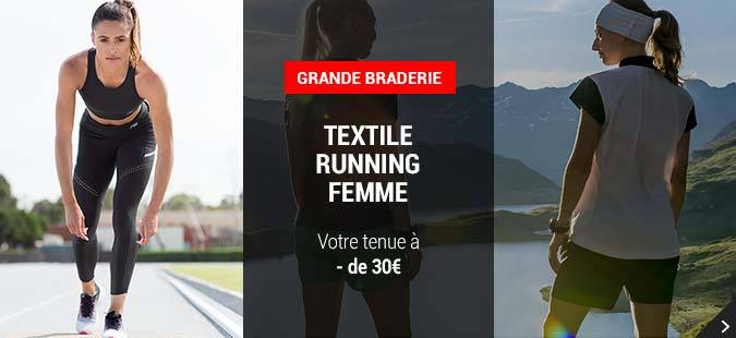 Grande Braderie Textile Running Femme