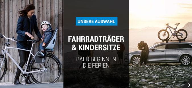 Fahrraträger & Kindersitze