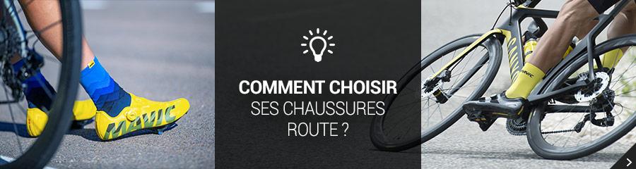 Comment choisir ses chaussures Route