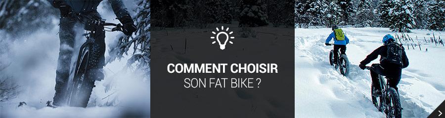Comment choisir son vtt fatbike