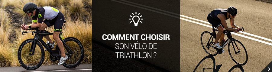 Comment choisir son vélo de triathlon