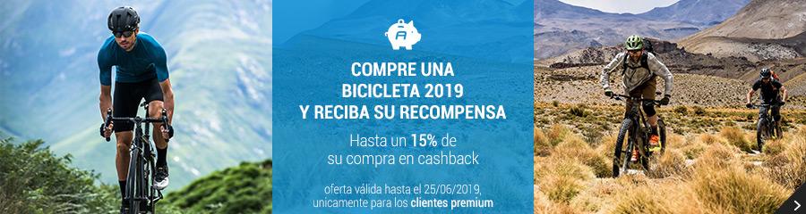 15% de cashback