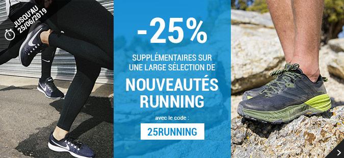-25% Running