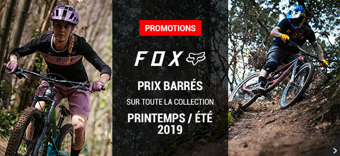 Promotions Fox Printemps / Été 2019