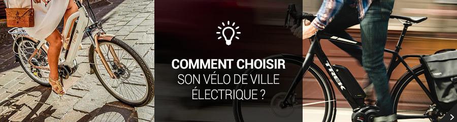Choisir son vélos de ville électrique