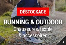 Déstockage Running & Outdoor