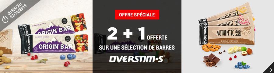 Overstims Barres 2+1 offert