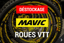 Déstockage Mavic
