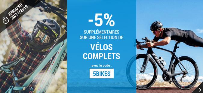 -5% Vélos Complets
